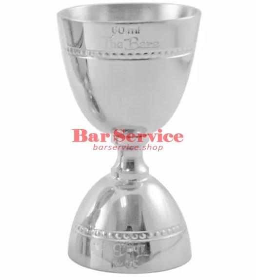 Джиггер барный 15-30-45-60 мл, нерж сталь The Bars в Хабаровске