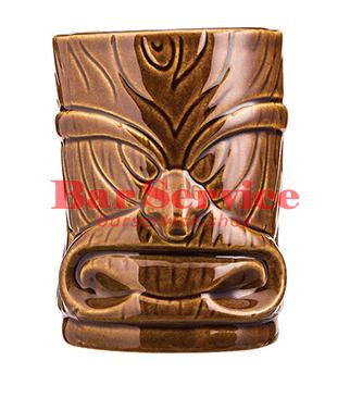"""Стакан д/коктейлей """"Тики"""";керамика 450мл, коричневый. в Хабаровске"""