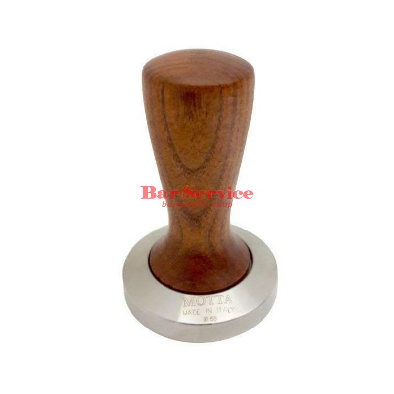 Темпер Мотта SLIM 58 мм. (плоский) рукоятка из дерева в Хабаровске