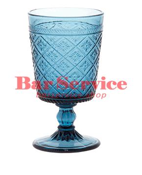 "Бокал д/вина ""Глория""; стекло; 240мл; синий в Хабаровске"