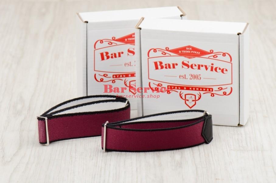 Армбенды, цвет бордо. Bar Service в Хабаровске