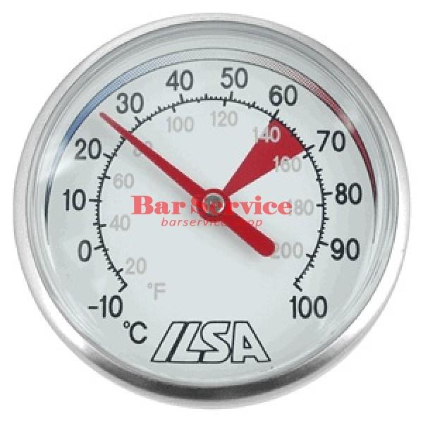 Термометр д/молока; сталь; D=45,L=138/125,B=55мм; металлич. в Хабаровске