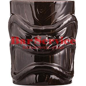 Стакан д/коктейлей «Тики», керамика; 450мл; коричнев. в Хабаровске