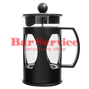 Чайник-кофейник Черный Объем: 600 мл. (френч пресс) в Хабаровске