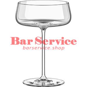 Шампан.-блюдце Мод; хр. стекло 425мл; D=120,H=170мм прозр в Хабаровске