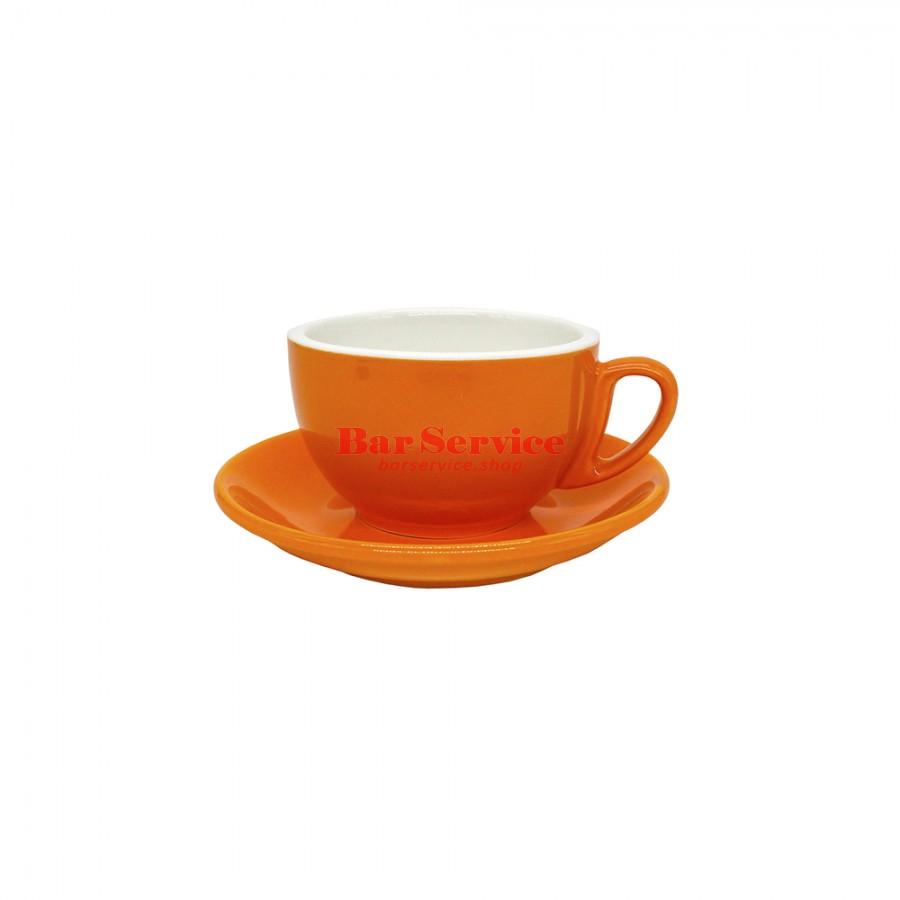Чайная пара 270 мл; оранжевый цвет; Barista P.L. в Хабаровске