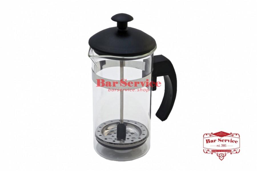 Чайник-кофейник Черный Объем: 350 мл. (френч пресс) в Хабаровске